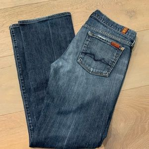 7 For All Mankind Boot Cut Jeans 30 7FAM